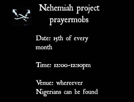 nehemiah project prayermobs